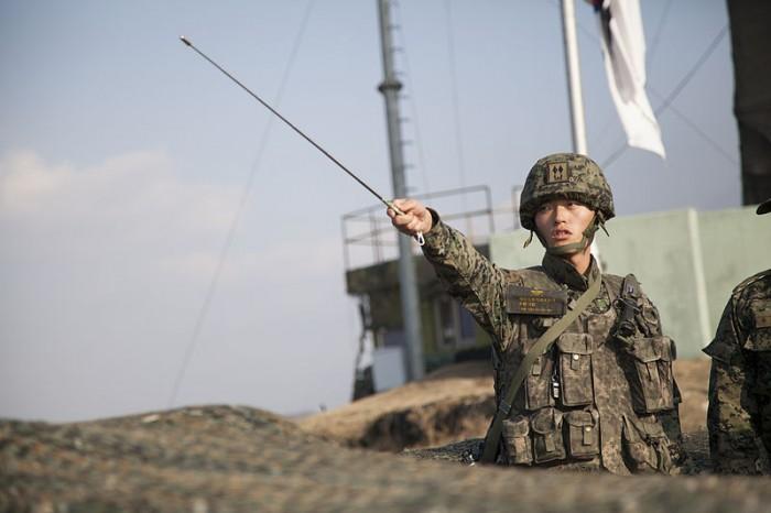 South Korea Border - Public Domain