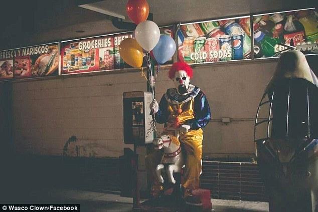 Wasco Clown - Facebook