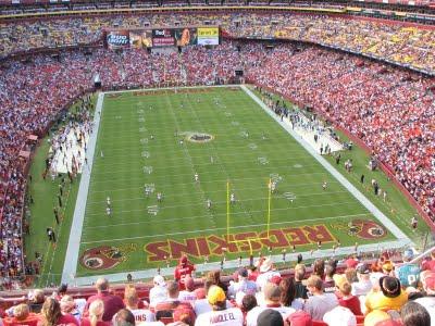 Washington Redskins Monday Night Football