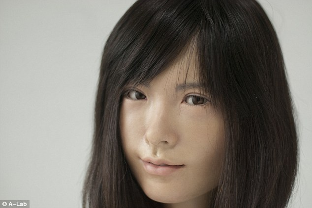 Life Like Robots Japan Asuna Life-like Female Robot