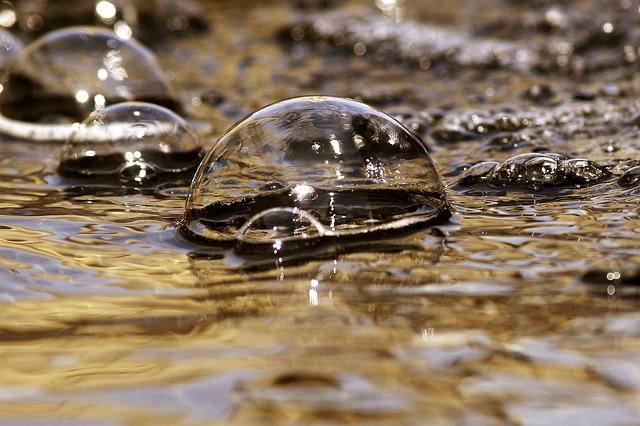 Bubbles Imploding - Public Domain