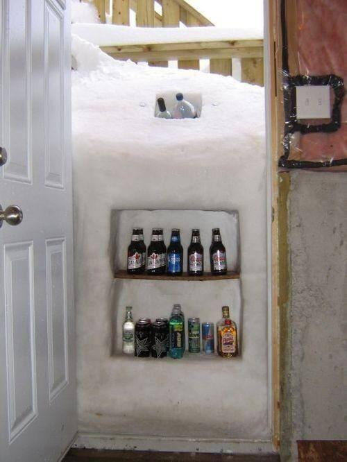 Buffalo Snow - posted to Twitter by Bipartisan Report