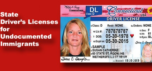 Driver's Licenses For Illegal Immigrants