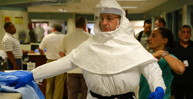 Ebola Hazmat Suit - Photo by armymedicine on Flickr