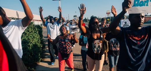 Ferguson March - Photo by Jamelle Bouie