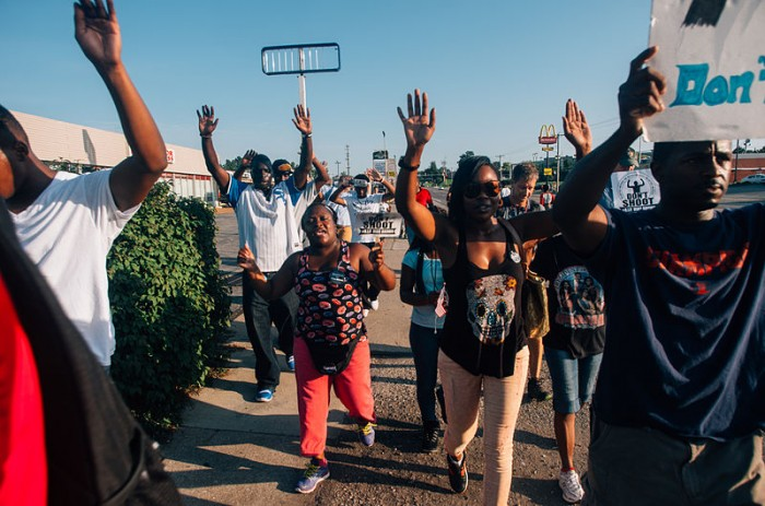 Ferguson March - Photo by Jamelle Bouie
