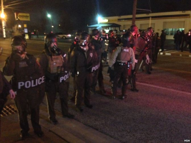 Ferguson Protests - Public Domain