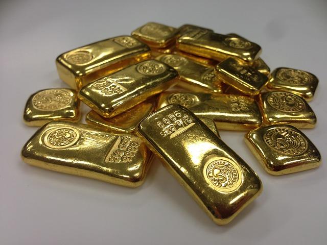 Gold Bars - Public Domain