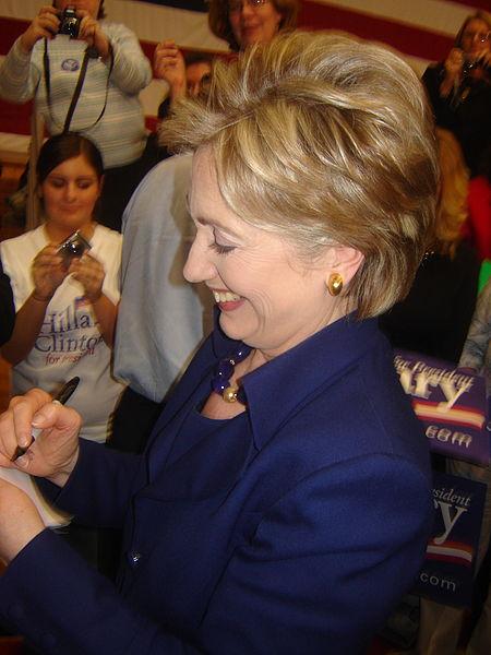 Hillary Clinton Smiling - Photo by Zammerman