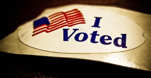 I Voted - Photo by Vox Efx on Flickr