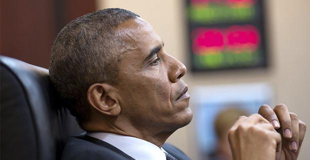 Obama Thinking - Public Domain