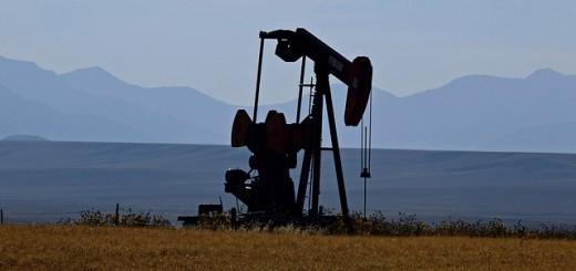 Oil Pump In Montana - Public Domain