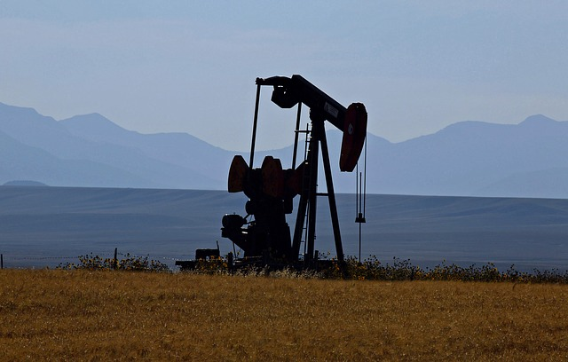 Oil Pump In Montana - Public Domain
