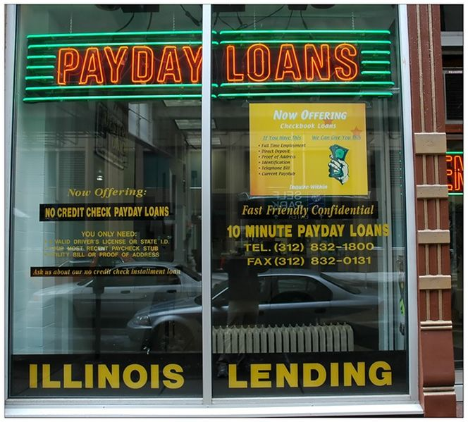 Payday Loans - Photo by swanksalot