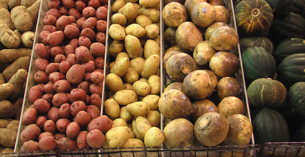 Potatoes - Photo by Renoir Gaither on Flickr