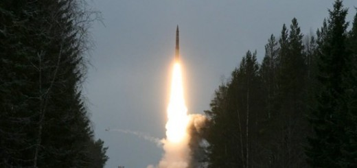 Russian Nuclear Missile Launch