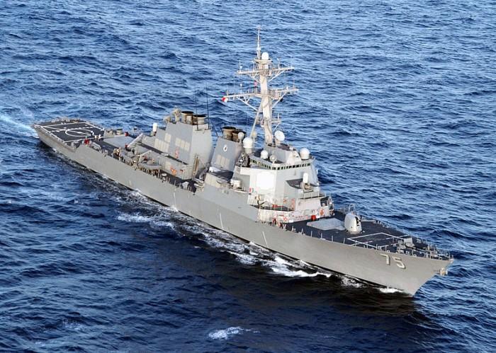 USS Donald Cook - Public Domain
