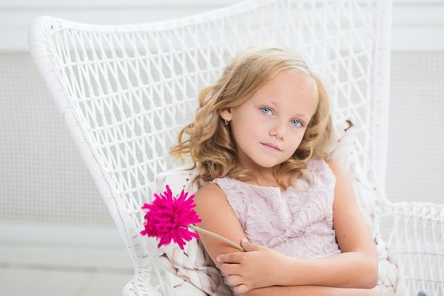 Young Girl - Public Domain