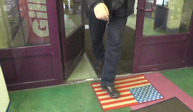 American Flag Doormat - Video Screenshot