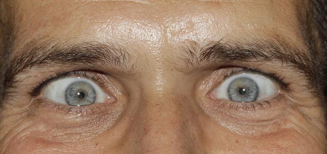 Crazy Eyes - Public Domain