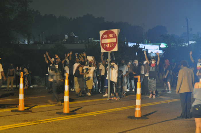 Ferguson Civil Unrest - Photo by Loavesofbread