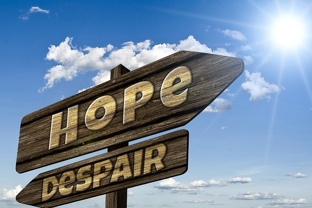 Hope Despair - Public Domain