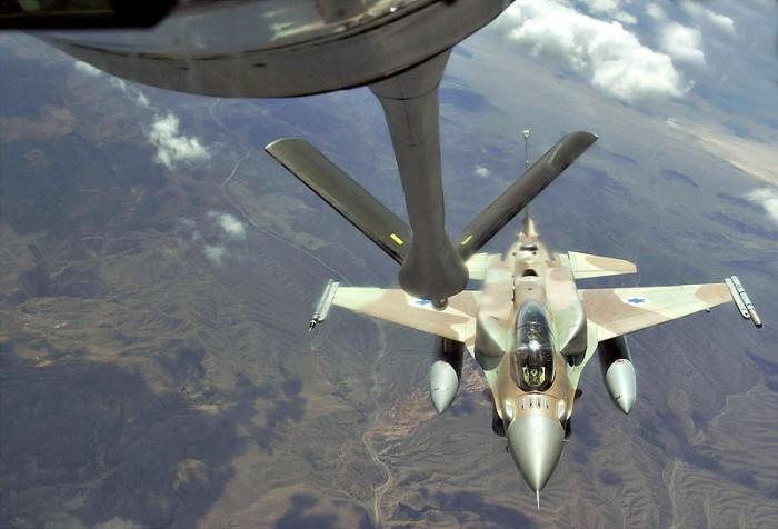 Israeli Air Force F-16 from Ramon Air Base, Israel - Public Domain