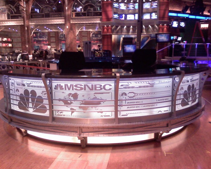 MSNBC HQ - Photo by Jeff Maurone from Seattle, WA, USA