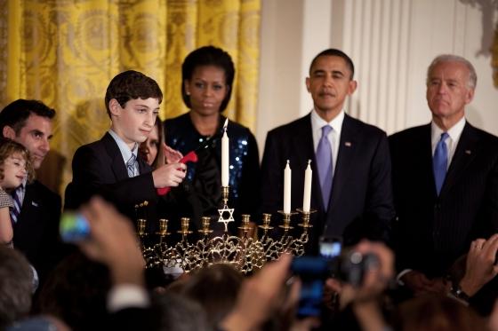 Obama Hanukkah - Public Domain