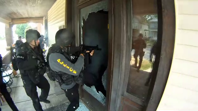 Police State - Men With Guns At Your Door - YouTube Screenshot