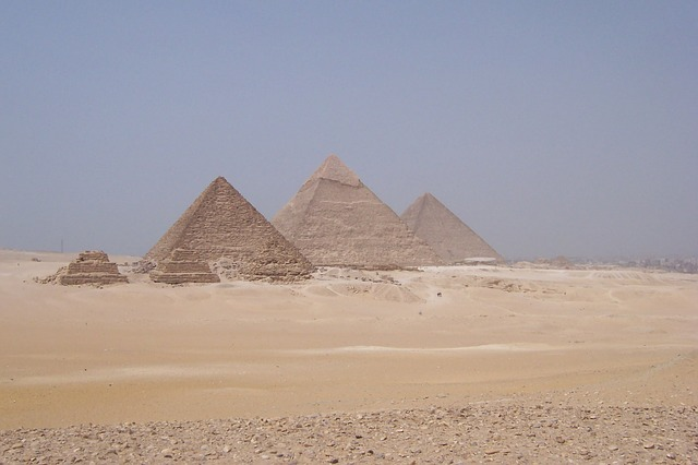 Pyramids Of Egypt - Public Domain