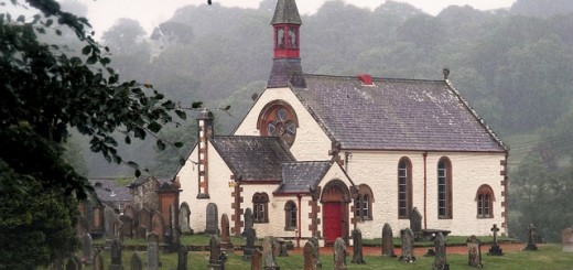 Scotland Church - Public Domain