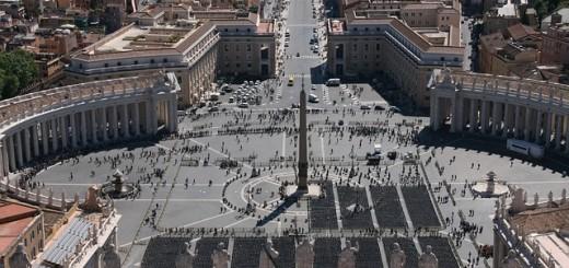 St. Peter's Square - Public Domain