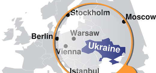 Ukraine Map - Public Domain