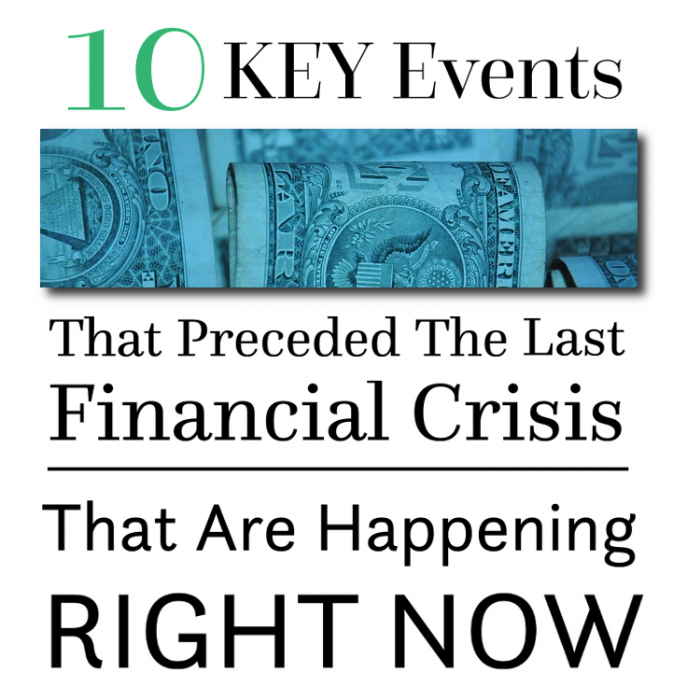 10 Key Events That Preceded The Last Financial Crisis