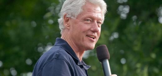 Bill Clinton - Photo by Roger H. Goun