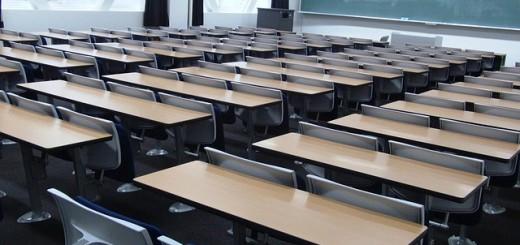 College Classroom - Public Domain