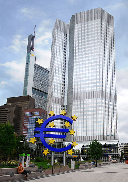 European Central Bank - Photo by Eric Chan