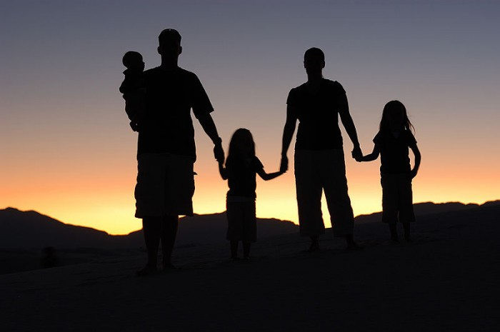 Family - Photo by Eric Ward