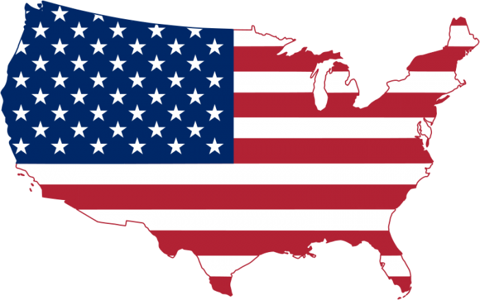 Map Of The United States 2014