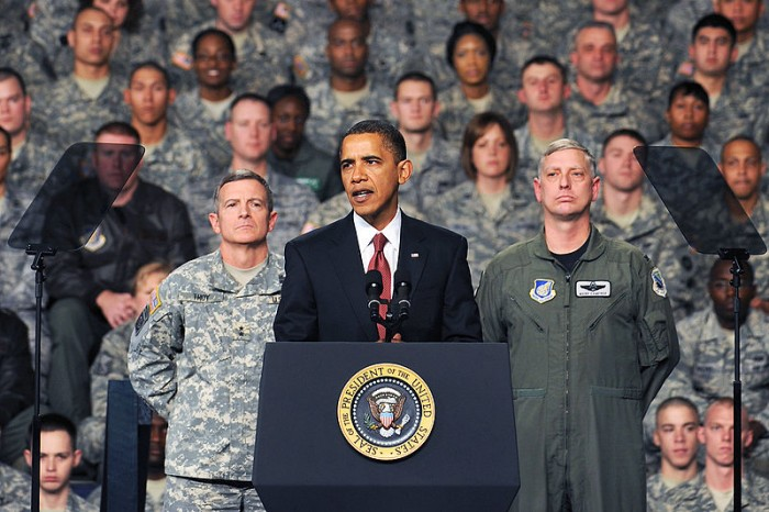 Obama And The Military