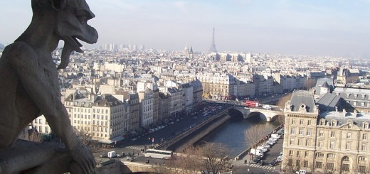 Paris Skyline - Public Domain