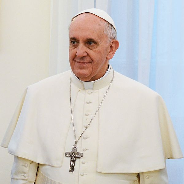 Pope Francis - Photo from presidencia.gov.ar