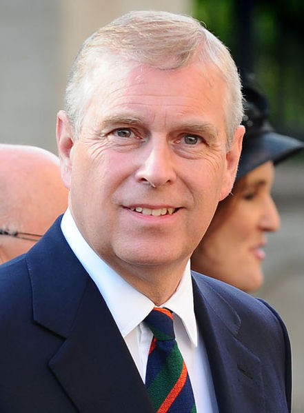 Prince_Andrew - Photo by Northern Ireland Office