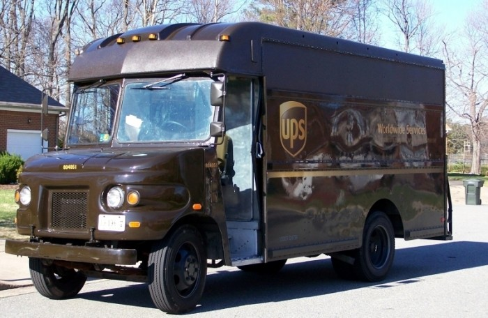 UPS Truck - Photo by William Grimes