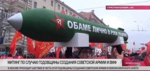 Russian Nuclear Missile To Be Personally Delivered To Obama
