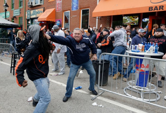 Baltimore Rioting - YouTube Screenshot
