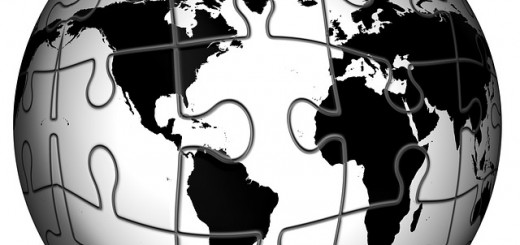 Earth Puzzle - Public Domain