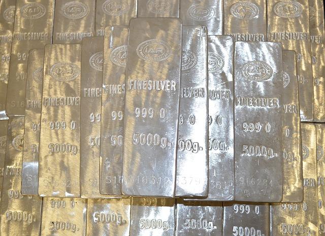 Silver Bars - Public Domain