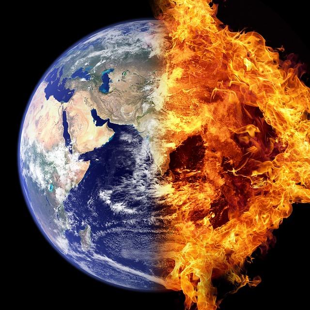 World On Fire - Public Domain